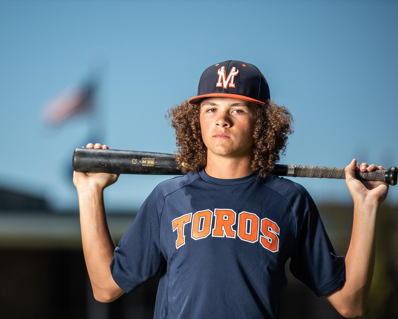 baseball teen image on location