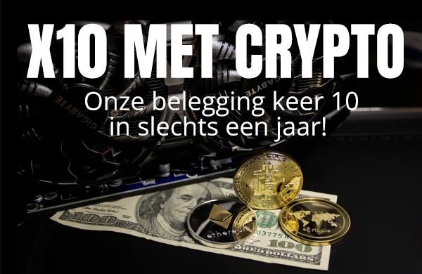 X 10 met Crypto