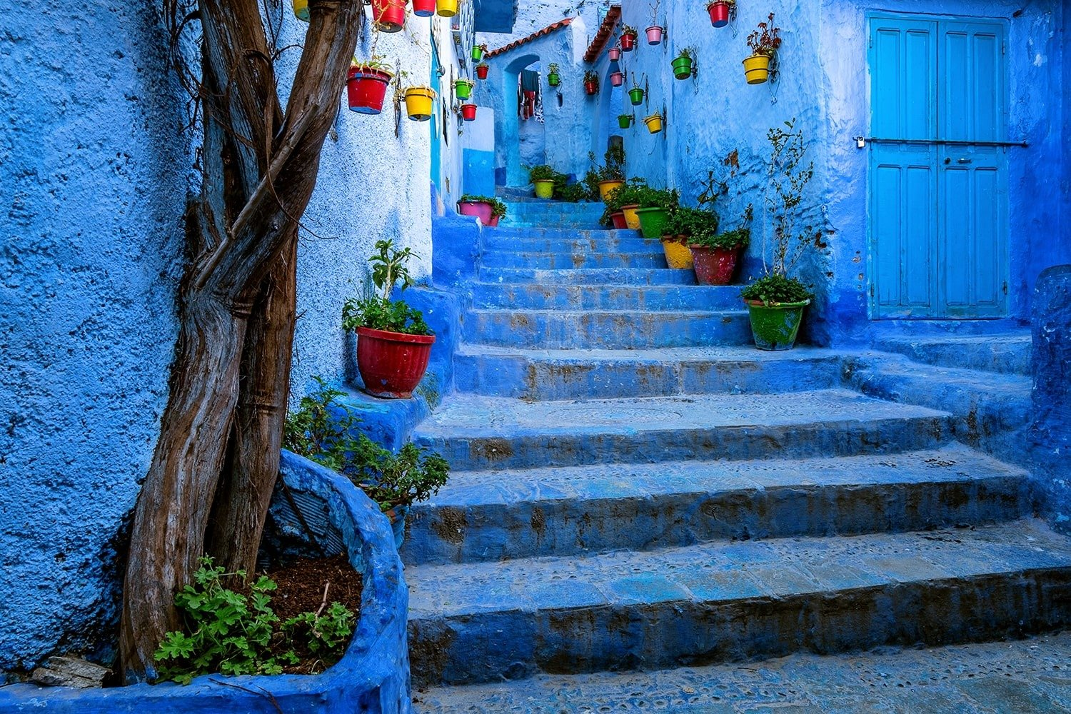 Morocco Blue Town