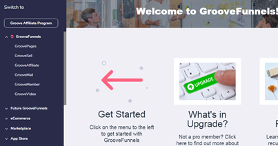 GroovePages - Landing page builder