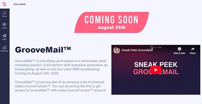 GrooveFunnels - GrooveMail - Email marketing