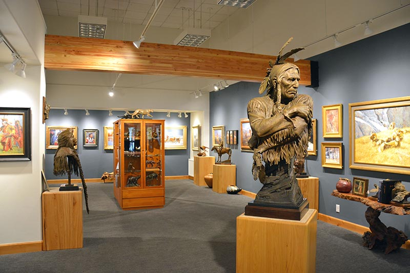 Wilcox Gallery II in downtown Jackson Hole, Wyoming