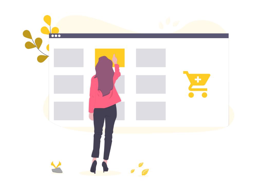 DashLuck ecommerce website