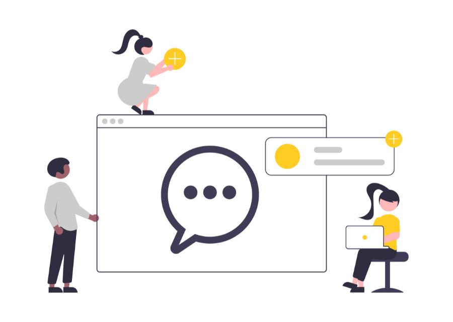 Dashluck livechat feature webdesign