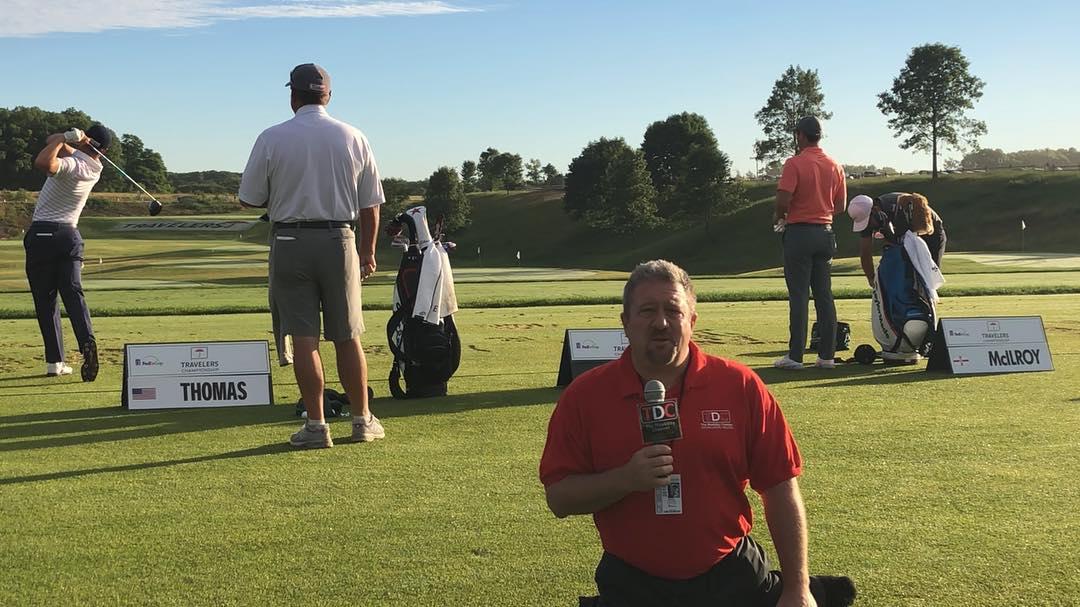 Dave Stevens Celebrity Amputee Golf