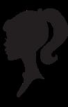 Woman's head sillhoutte