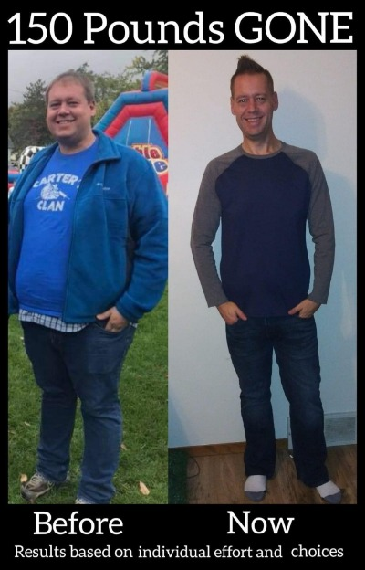 Shuan G's 150 pound in 16 month journey