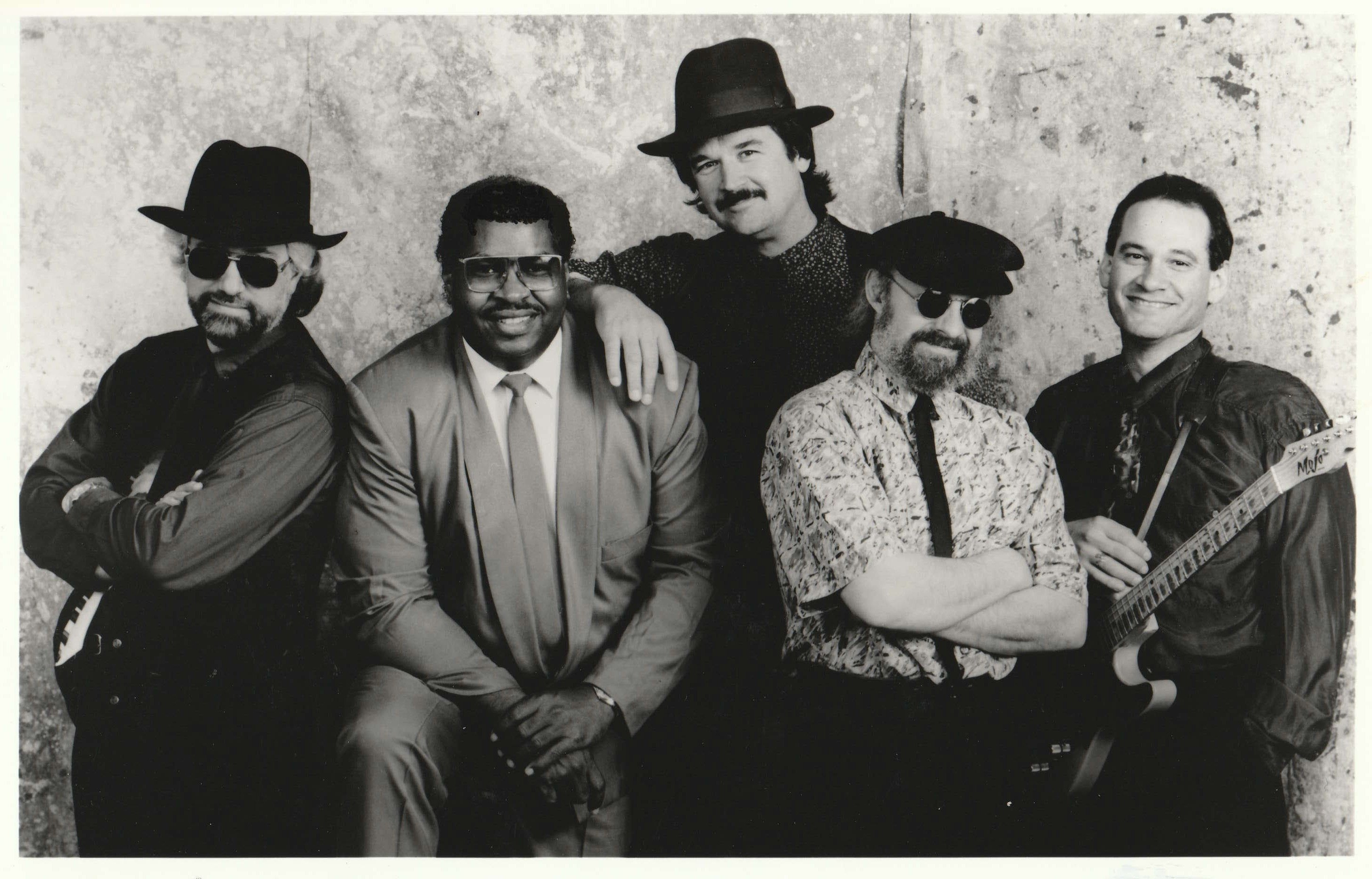 picture of Jerry B. Bowden and band members of Blue Haze