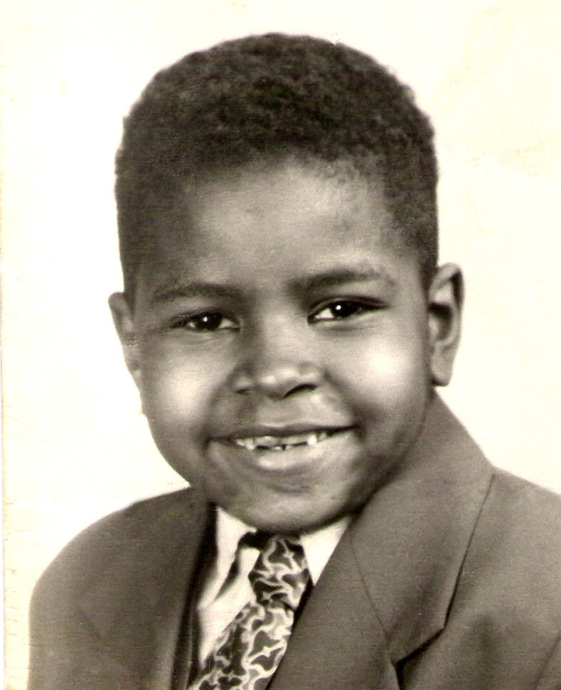 picture of Jerry B. Bowden as an 8 year old boy