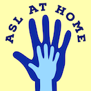 ASL at home logo