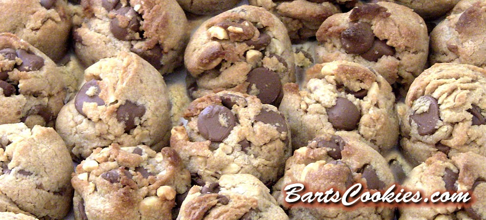 Peanut Butter & Milk Chocolate Chip from BartsCookies.com.