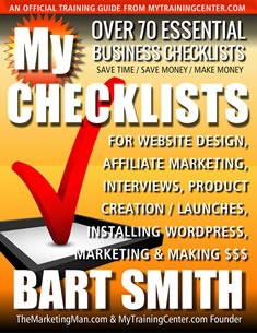 My Checklists Book by Bart Smith