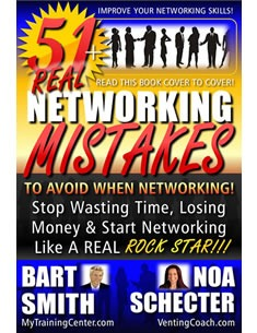 51+ Networking Mistakes by Bart Smith