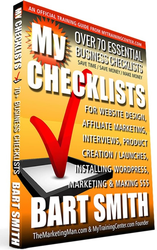 My Checklists by Bart Smith