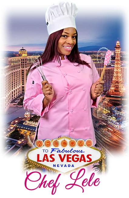 Chef Lele Bakes Cakes For Las Vegas, Nevada