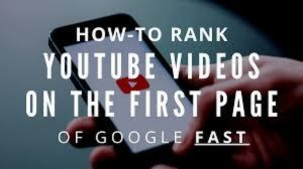 how to rank youtube videos on top of google fast