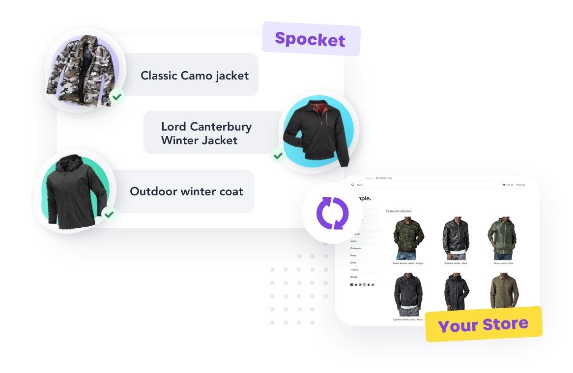 Spocket Product Selection
