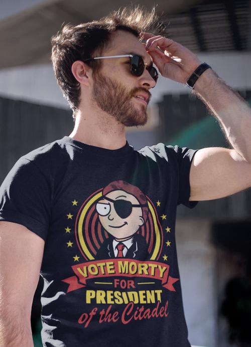 Vote Morty For President