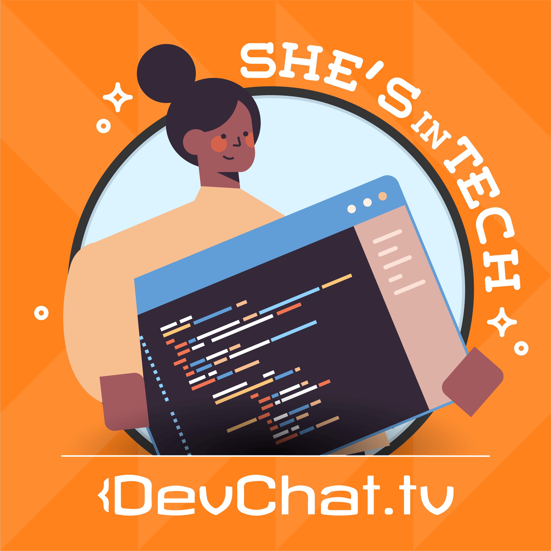 She's in Tech Podcast Artwork