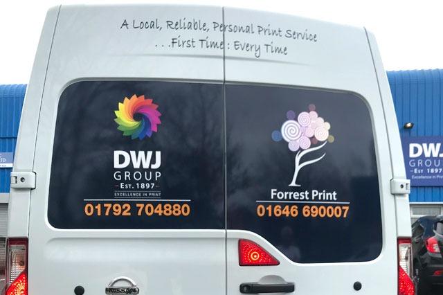 DWJ Printers Swansea