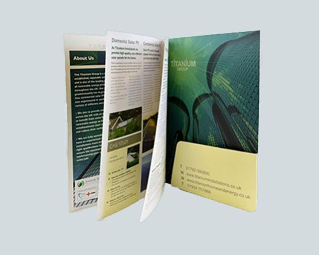 Brochure Folders