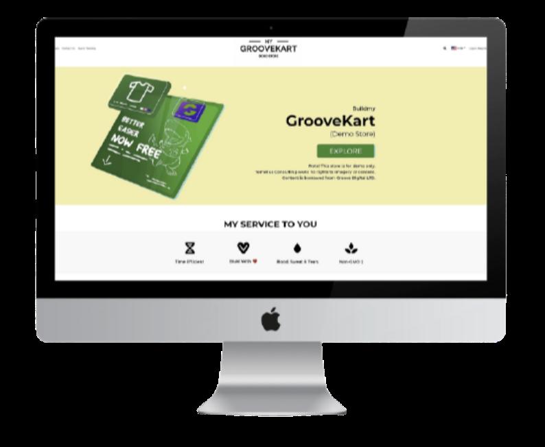 buildmy Demo GrooveKart Store