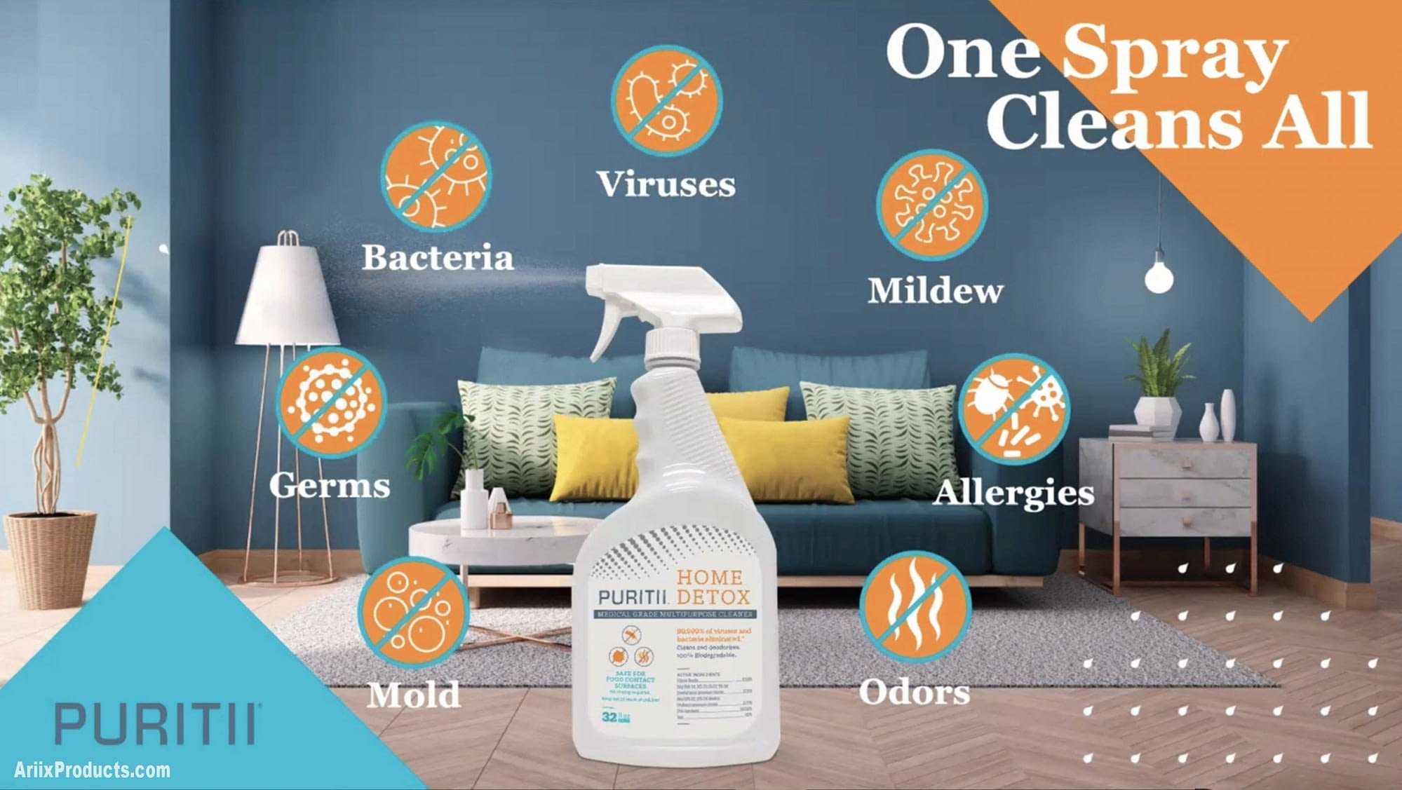 Puritii Home Detox cleaner