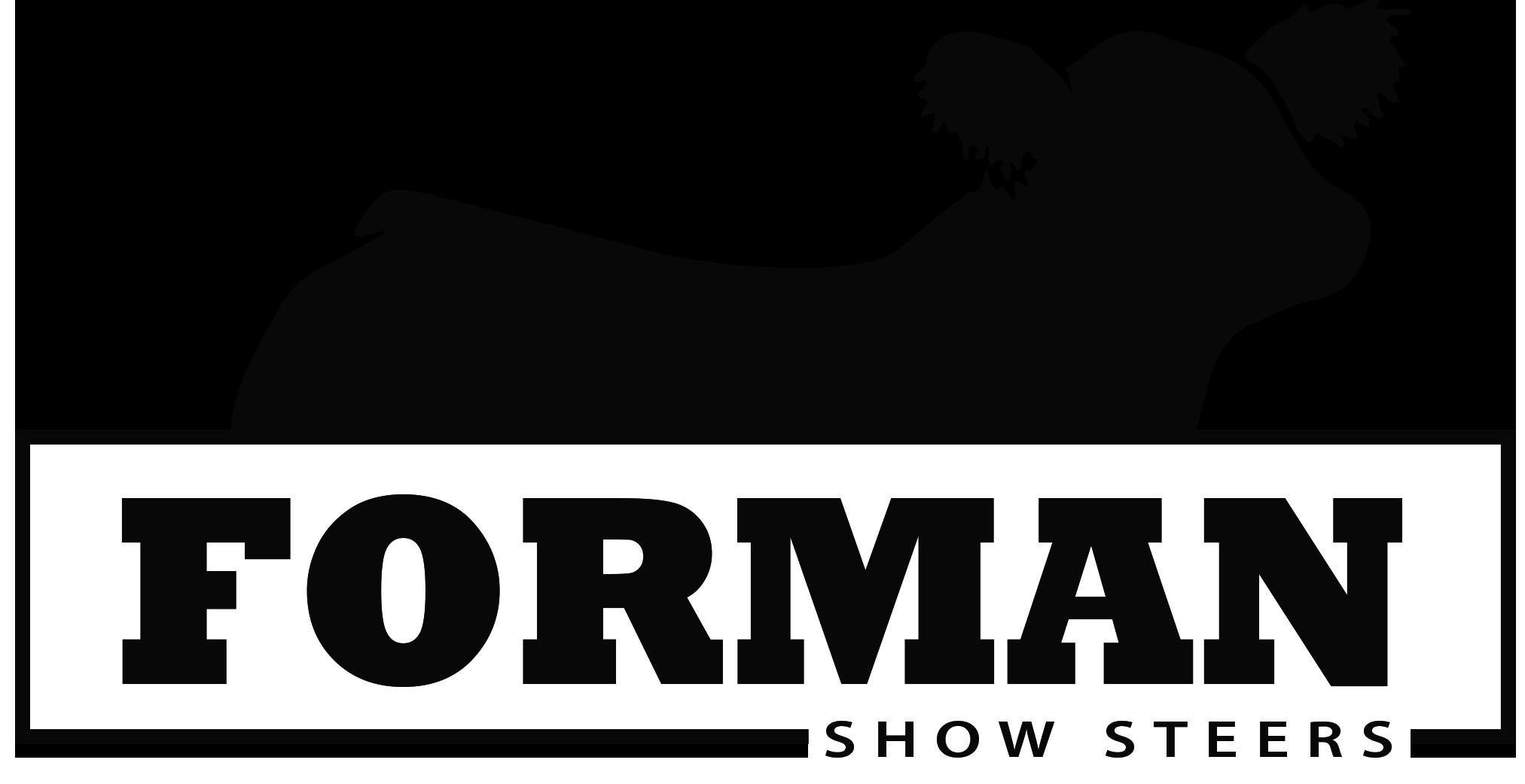 Forman Show Steers
