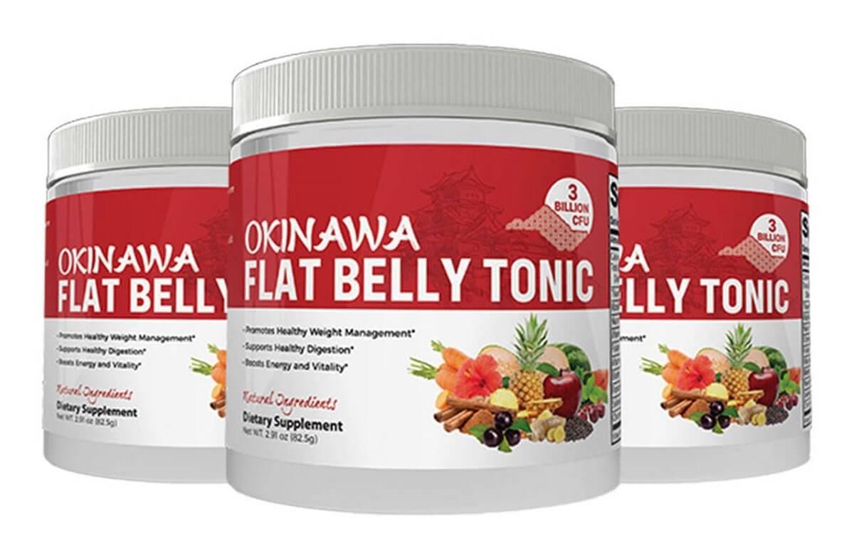 Okinawa Flat Belly Tonic photo of bottles