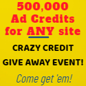 500,000 Ad Credits for any site
