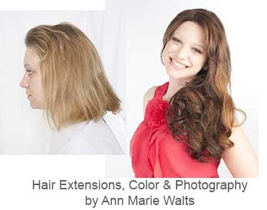 Best makeovers near me with hair extensions