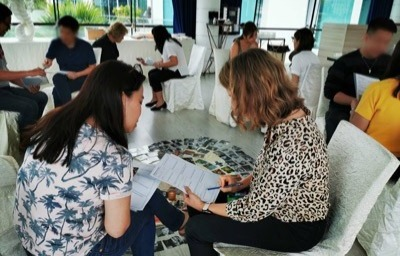 strengths focused training corporate program for teams