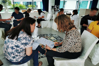 Corporate Training with a Focus on Team Strengths